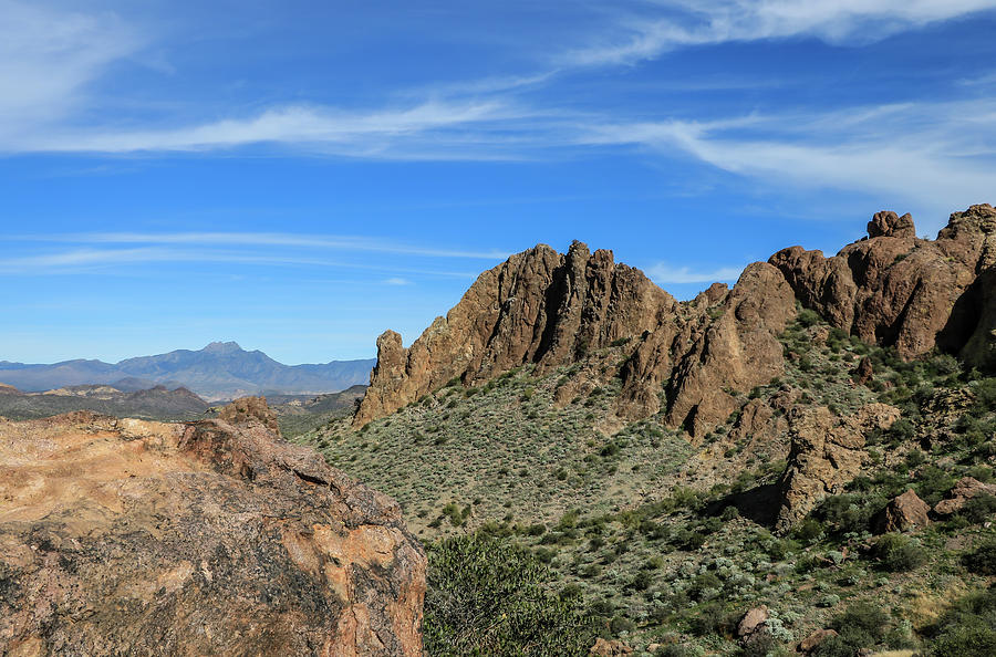 Superstition Mountain Views 1 by Dawn Richards