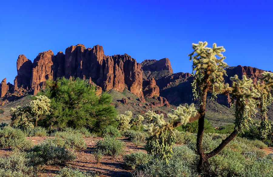 Superstition Mountains 1 by Dawn Richards