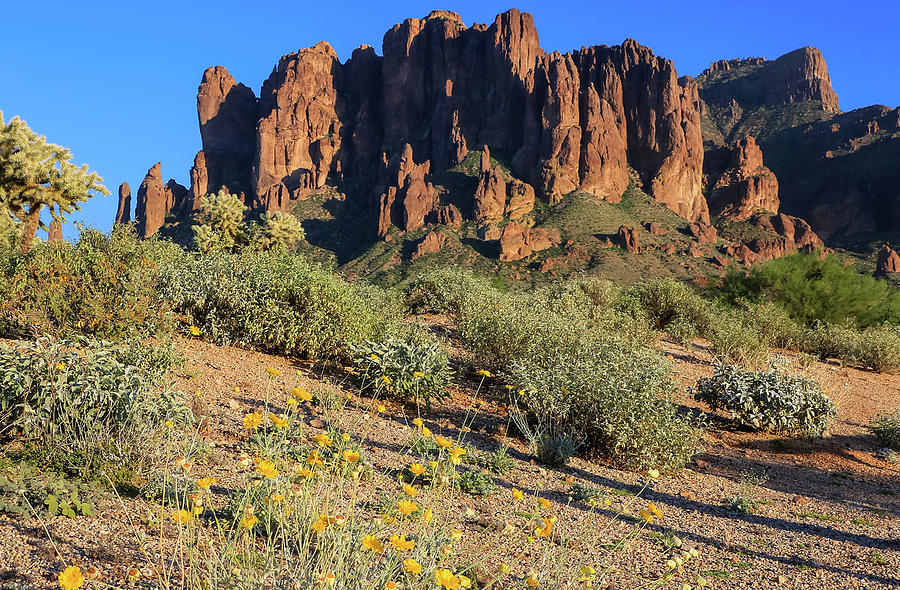 Superstition Mountains 2 by Dawn Richards
