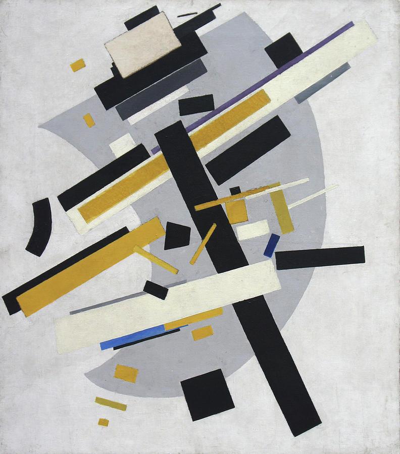 Kazimir Malevich Painting - Supremus No. 58 by Kazimir Malevich