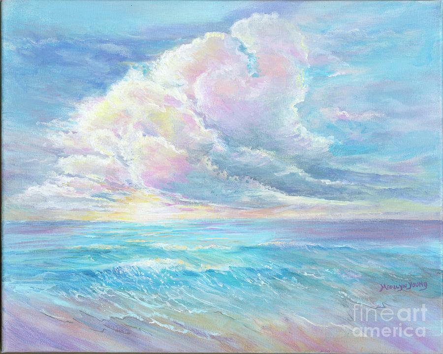Surf and Sky by Marilyn Young