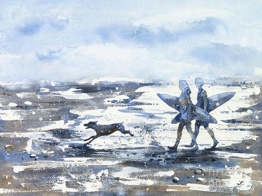 Surf Beach Painting