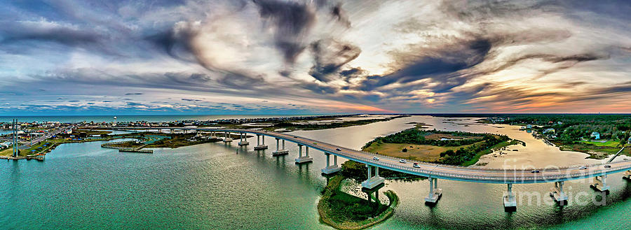 Surf City Bridge by DJA Images