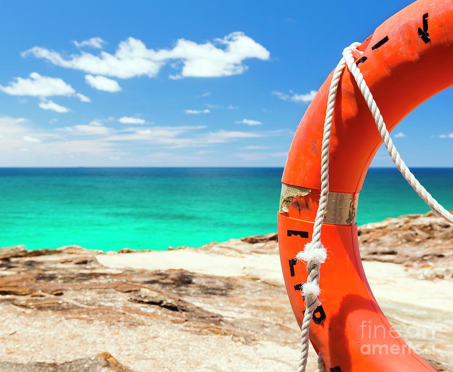 Surf Life Saver Float Photograph