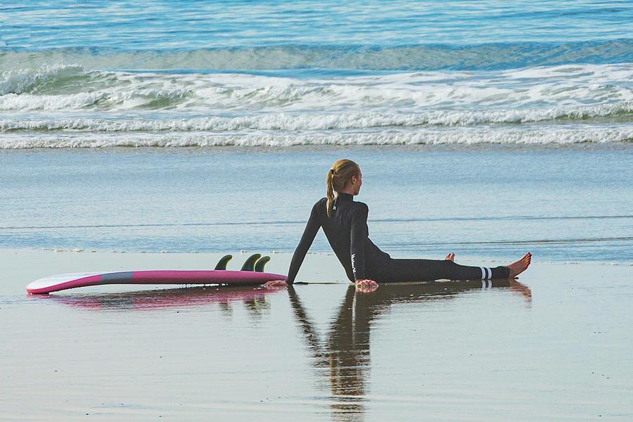Surfer Girl Photograph