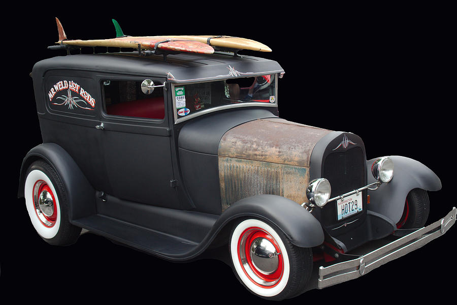 Surfer's 29 Deuce Coupe by Cathy Anderson