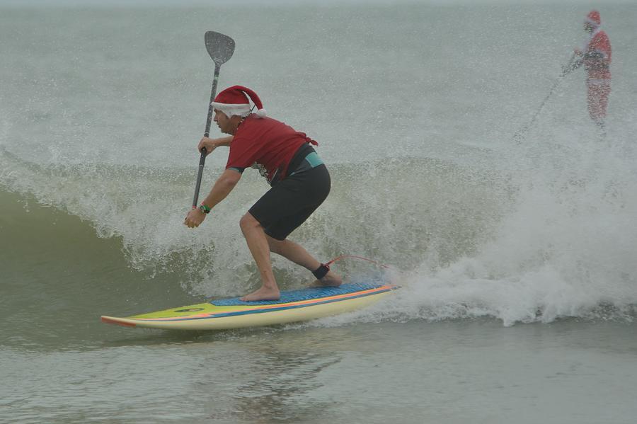 surfing santas 8 by Bradford Martin