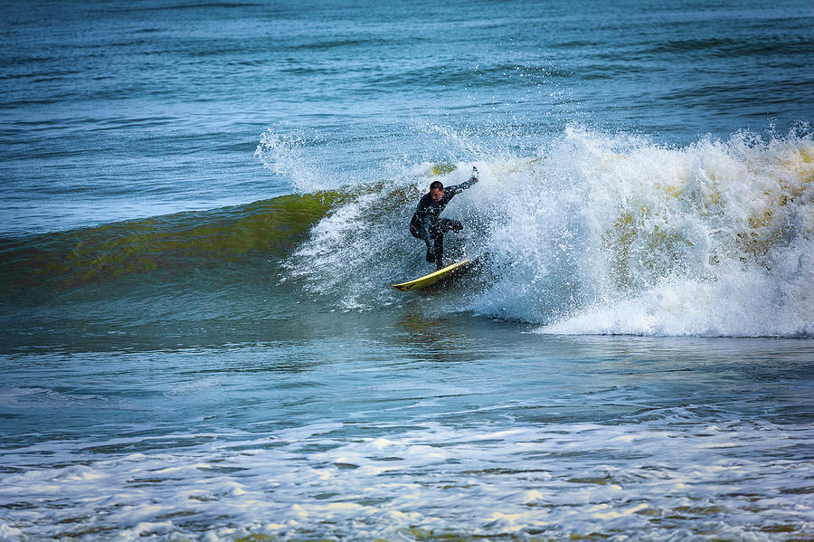 Surfing the Outer Banks by Dan Carmichael