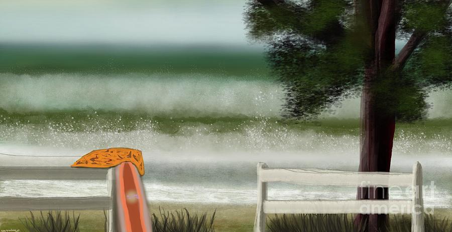Surfs Up Digital Art