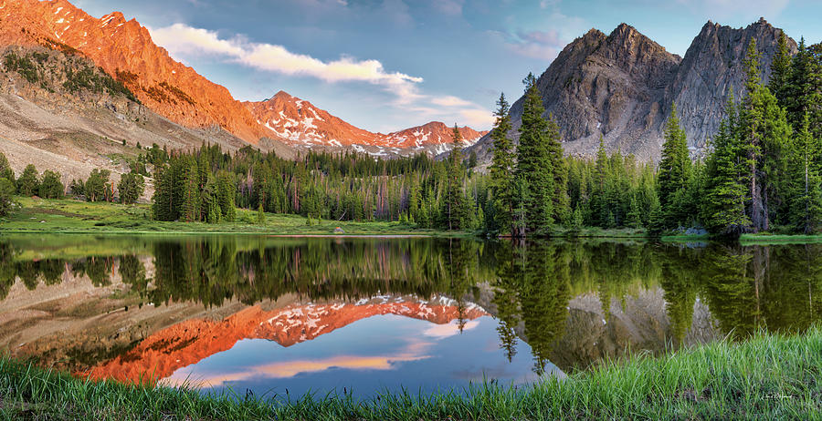 Surprise Valley Reflections 3 by Leland D Howard