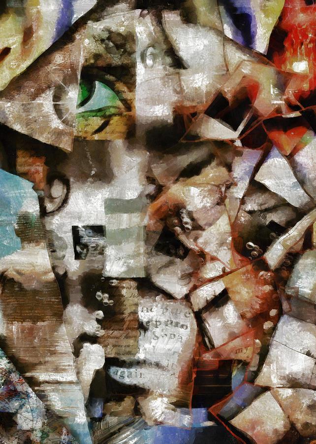 Surreal Fragments Of Life Digital Art