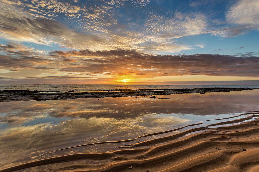 Surreal Kauai Sunrise Photograph