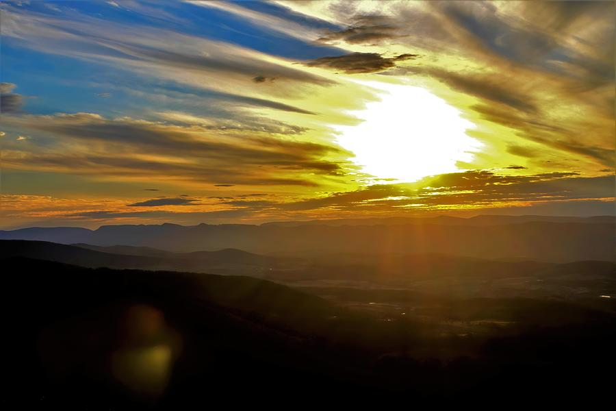 Surreal Sunset Photograph
