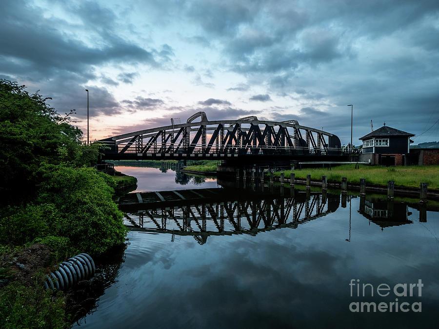 Sutton Weaver Swing Bridge Photograph