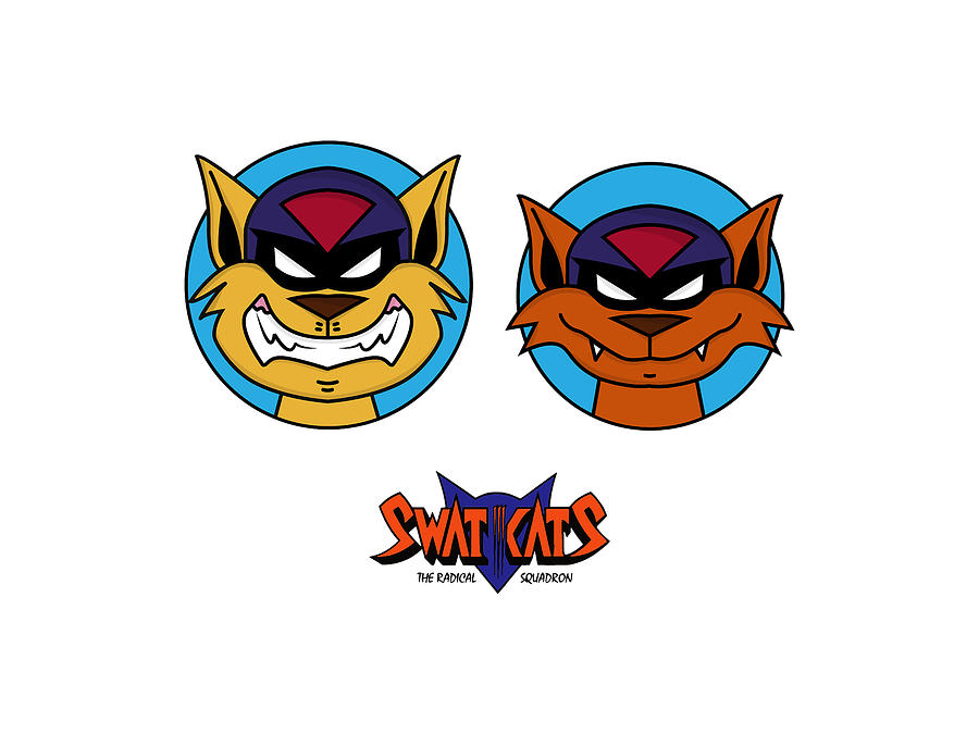 Swat Kats Digital Art
