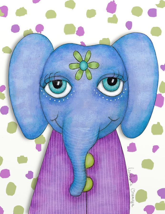 Sweet Elephant by Barbara Orenya