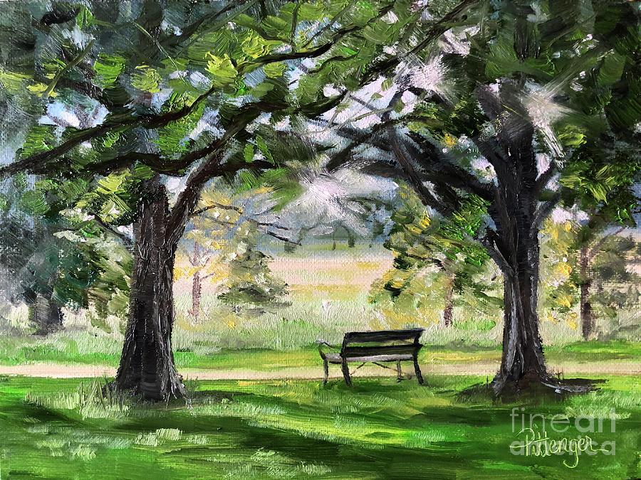 Sweet Repose In London Painting