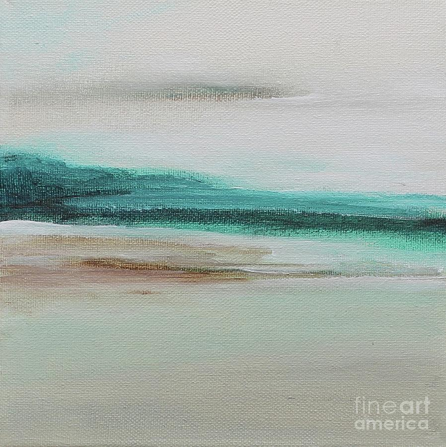 Beige Painting - Swim To The Reef by Kim Nelson