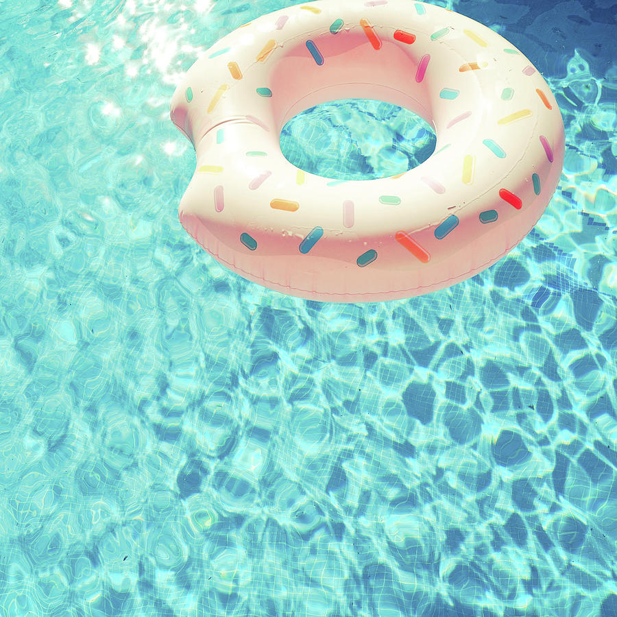 Swimming Pool Photograph - Swimming Pool VII by Cassia Beck
