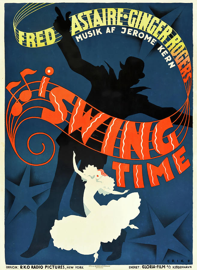 swing Time, 1936 - C Mixed Media