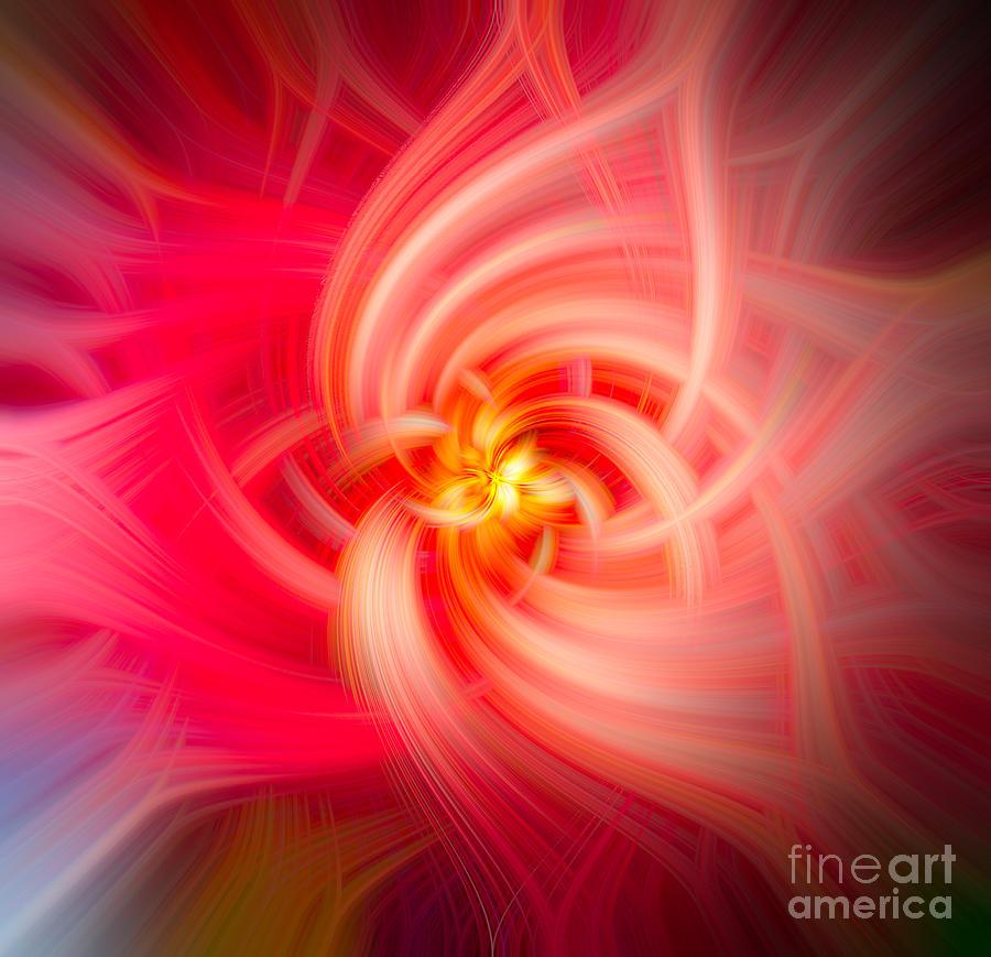 Flower Abstract Swirl Photograph