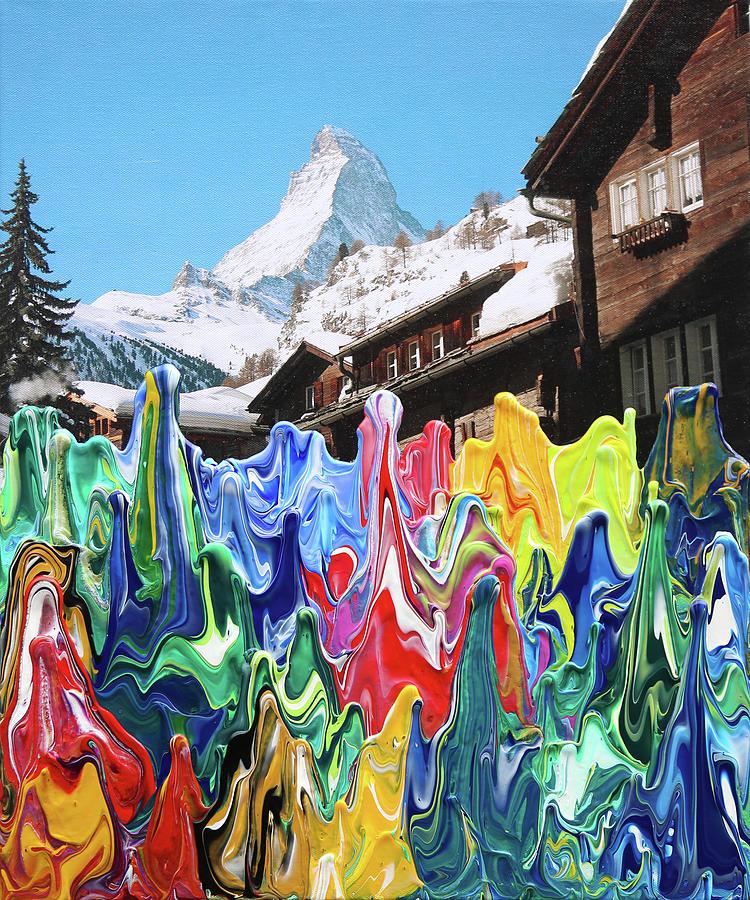Swiss Matterhorn  by Antonio Wehrli