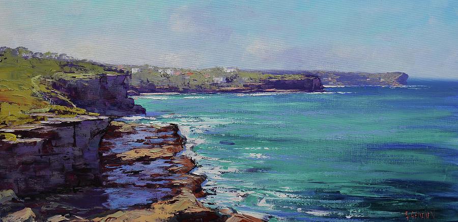 Sydney Coastline Painting