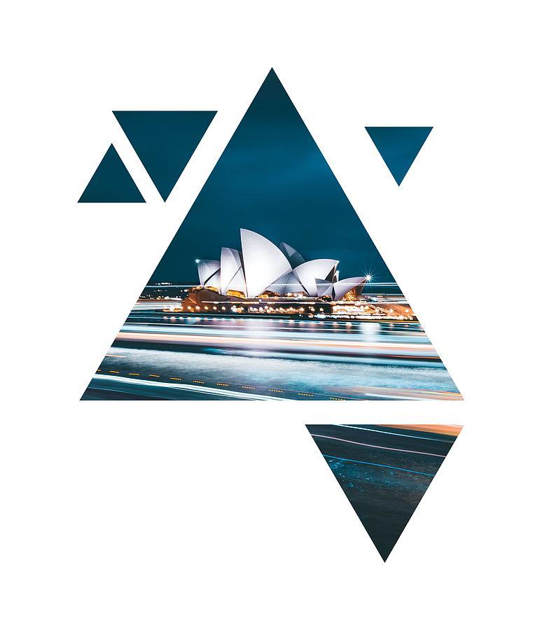Sydney geometric art by Andrea