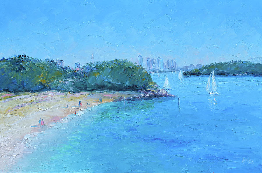 Sydney Harbour from Vaucluse by Jan Matson