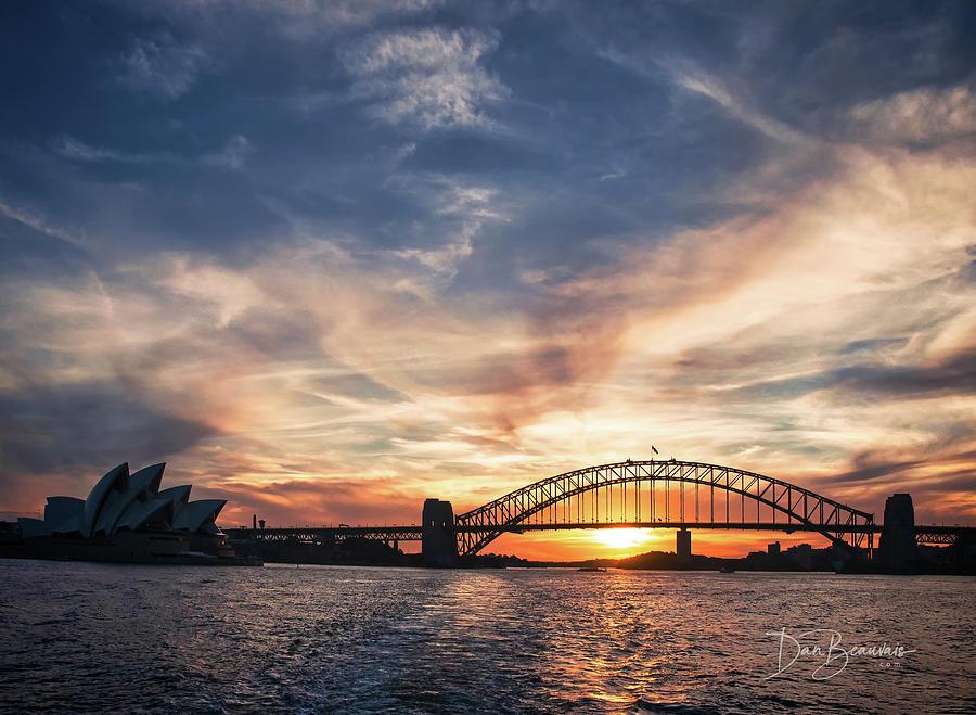 Sydney Harbour Sunset 4531 Photograph
