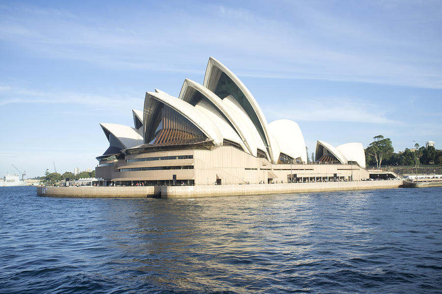 Sydney Opera House Photograph by Amer Ghazzal