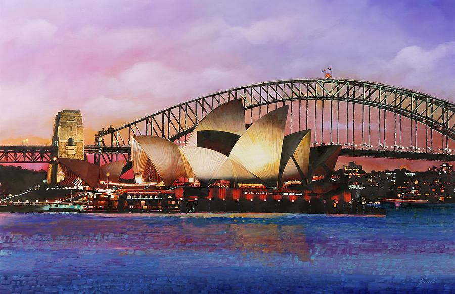 Sydney Opera House Painting