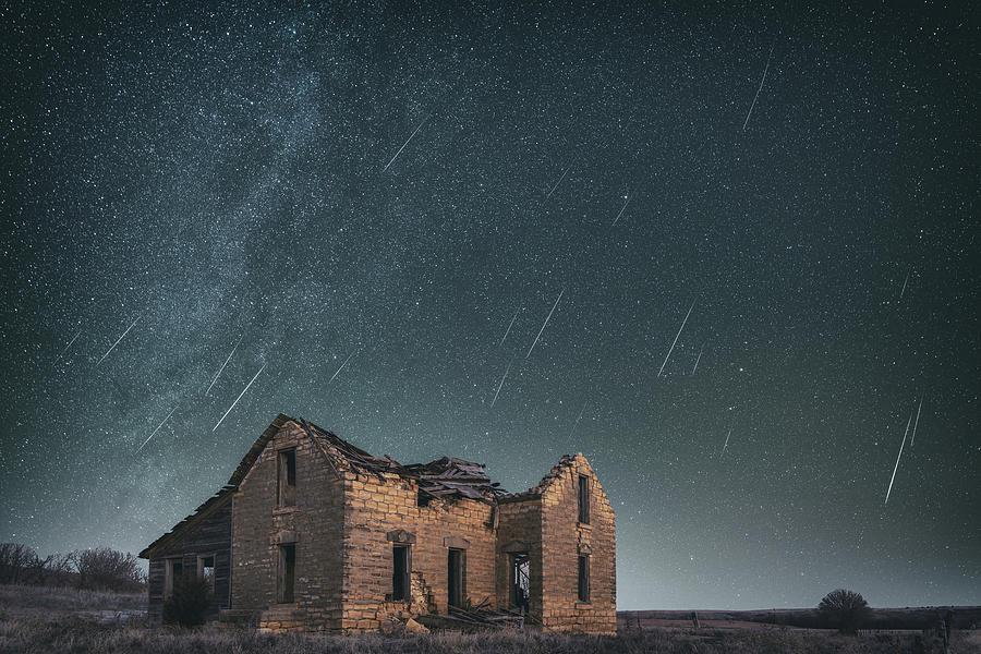 Sylvan Grove Meteors Photograph