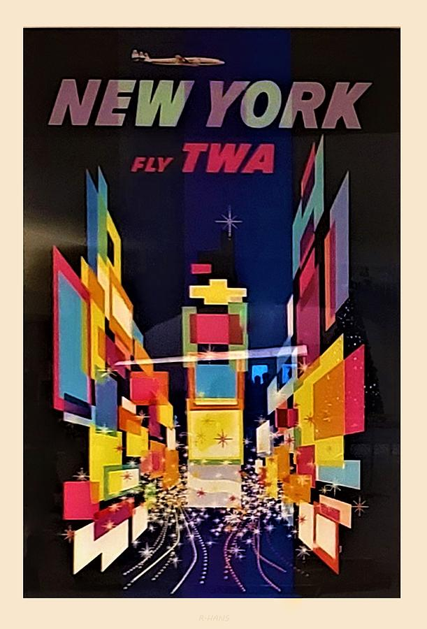 T W A NEW YORK by Rob Hans