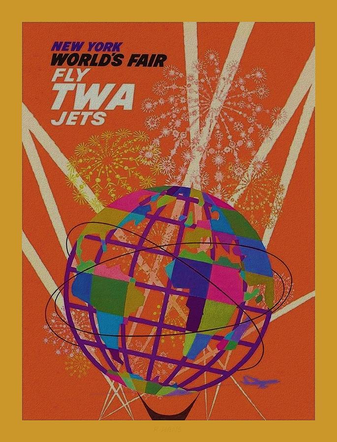 T W A NEW YORK WORLD FAIR by Rob Hans