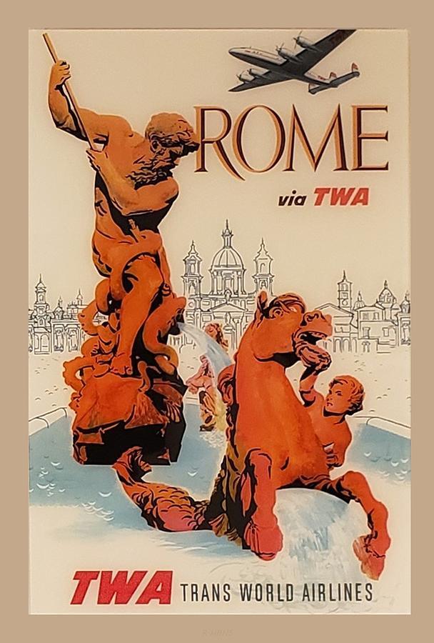 T W A ROME by Rob Hans