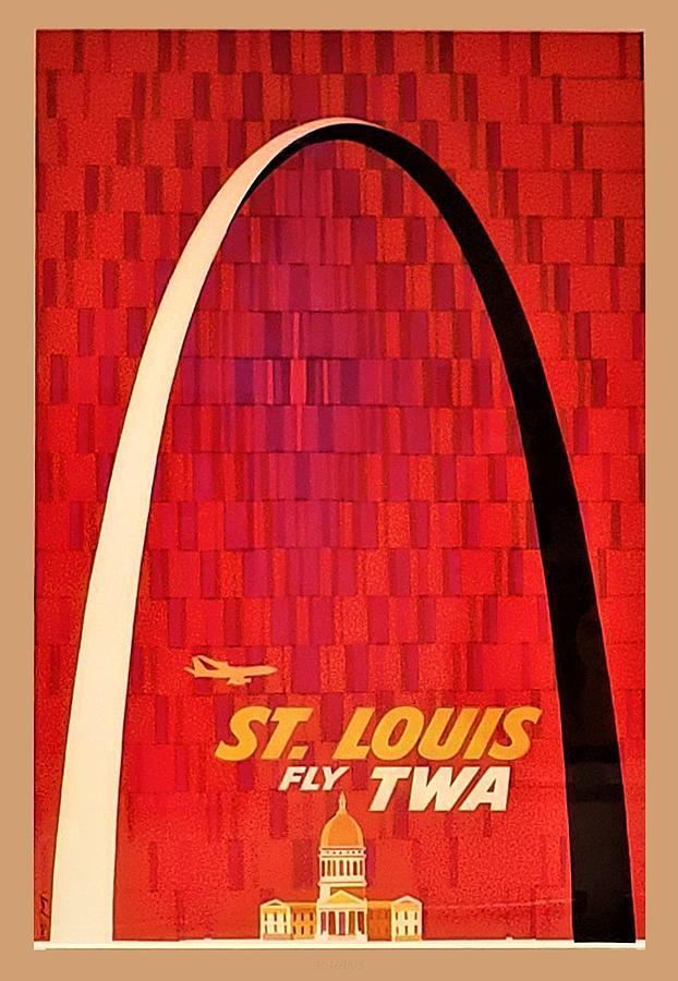T W A ST. LOUIS by Rob Hans