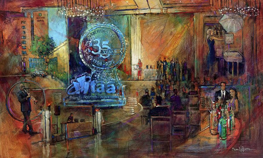 Taa 35th Anniversary Painting