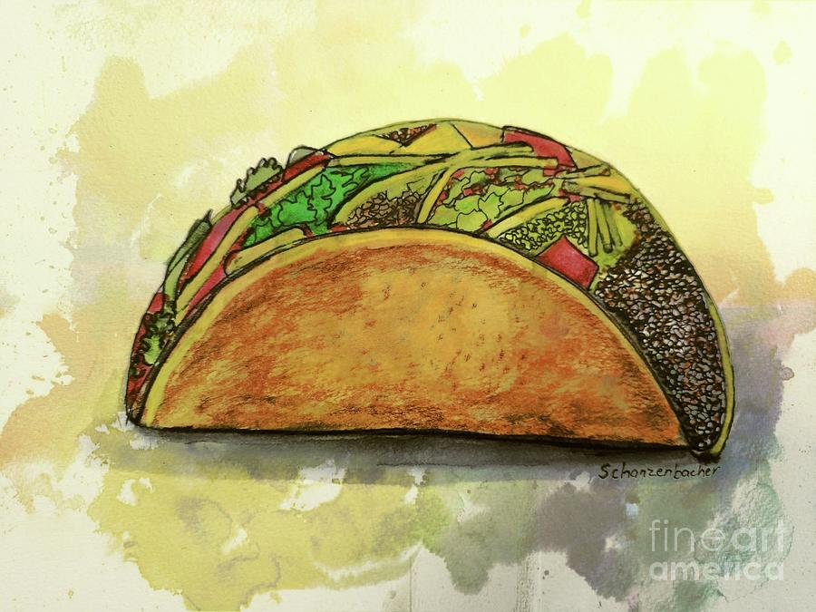 Taco Painting
