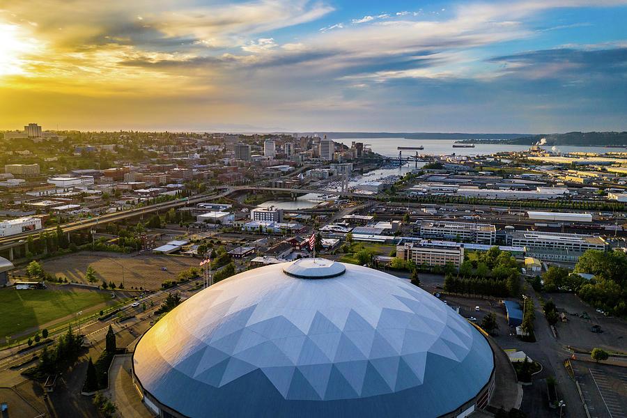 Tacoma Dome 2 Photograph