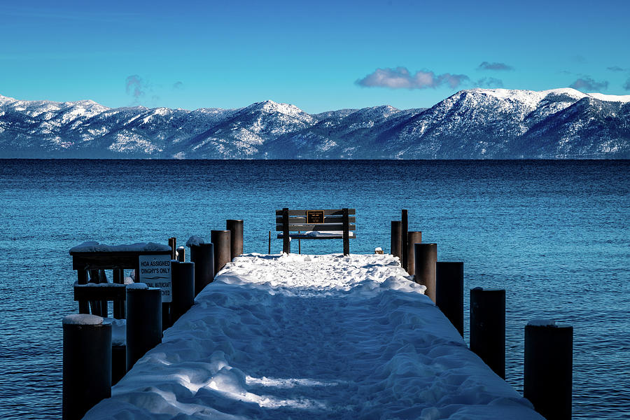 Tahoe Dock Photograph