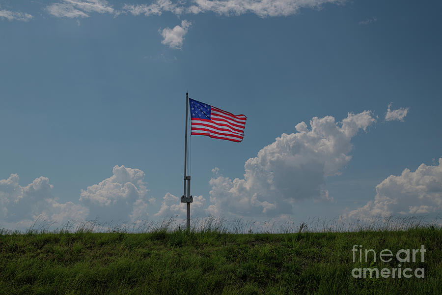 Take The Hill - Old Glory Photograph