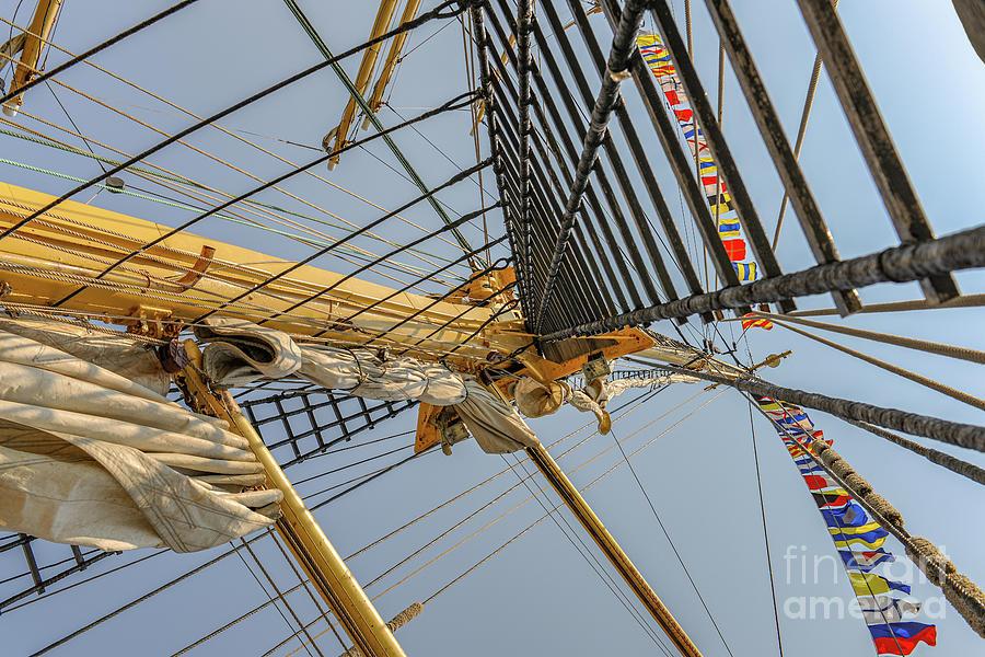 Tall Ship Mast - Ns Mircea Photograph