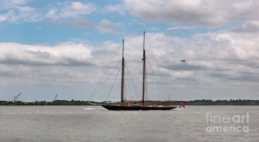 Tall Ship Sailing - Charleston Photograph
