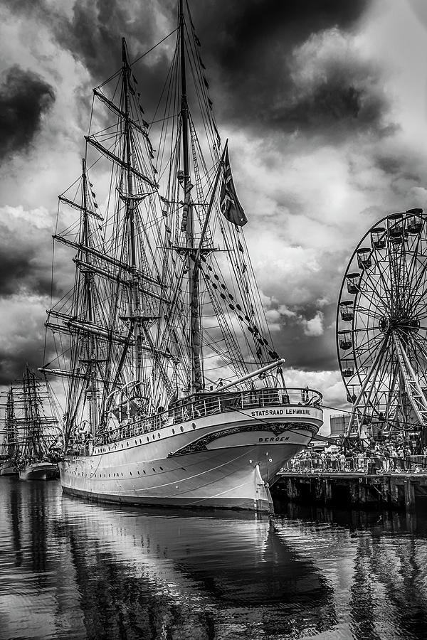 Belfast Photograph - Tall Ships 2015, Belfast by Alan Campbell
