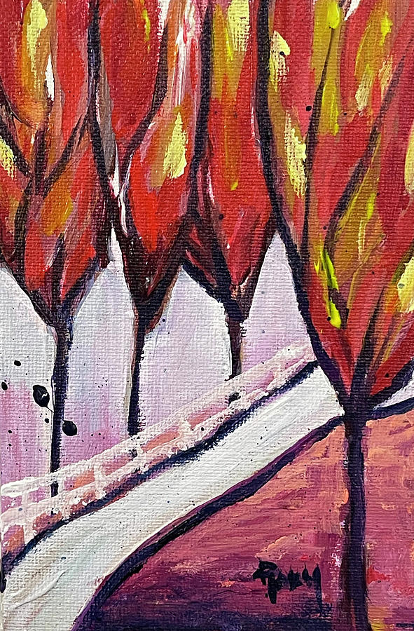 Tall Trees 2 Painting