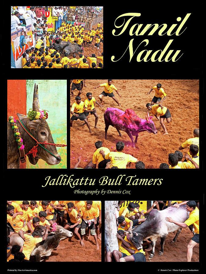 Tamil Nadu Travel Poster Photograph