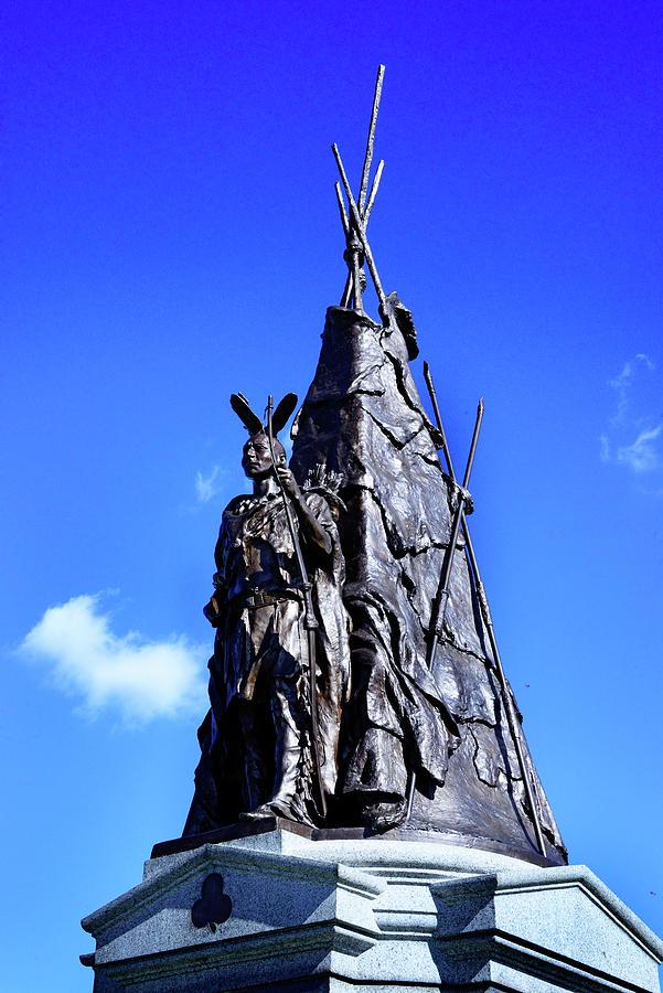 Tammany Regiment Monument - Detail Photograph