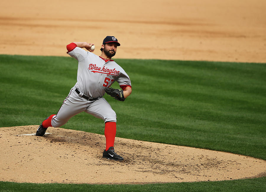 Tanner Roark Photograph by Al Bello