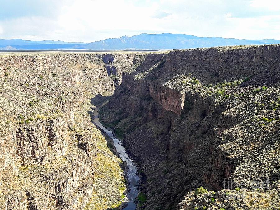 Taos Gorge Photograph
